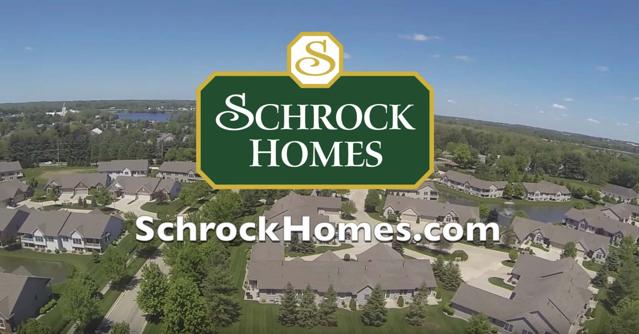 Schrock Homes video featuring Goshen, Indiana new homes.